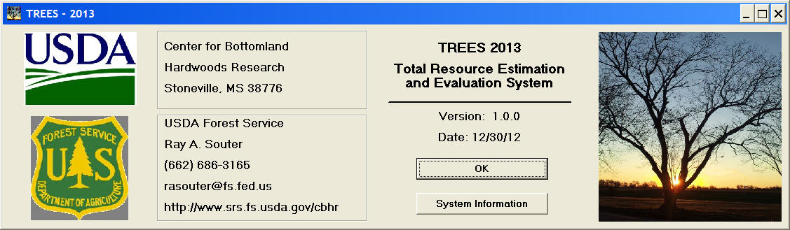 [About TREES 2013]